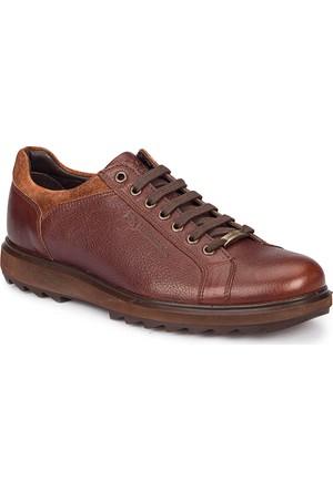 Lumberjack Calabre Kahverengi Erkek Deri Ayakkabı