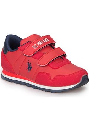 U.S. Polo Assn. Alone Kırmızı Erkek Çocuk Çocuk Ayakkabı