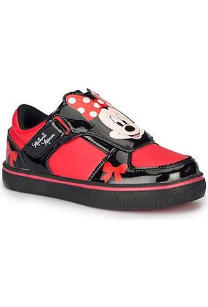 Mickey Mouse Look Siyah Kız Çocuk Ayakkabı