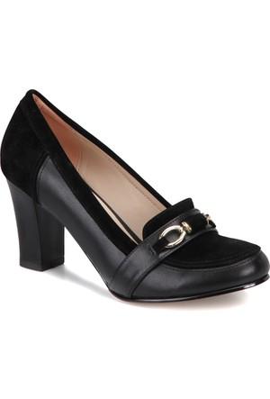Miss F Dw17010 Siyah Kadın Basic Ayakkabı