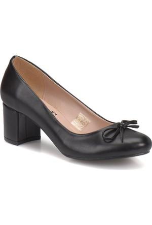 Miss F Dw17034 Siyah Kadın Basic Ayakkabı