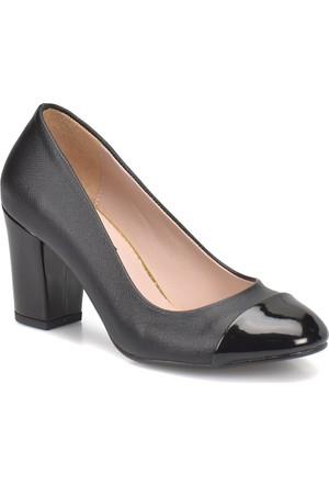 Miss F N1650 Siyah Kadın Basic Ayakkabı
