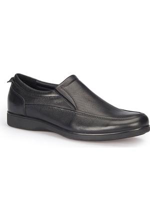 Polaris 5 Nokta 72.110363.M Siyah Erkek Deri Ayakkabı