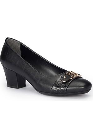 Polaris 72.310264.Z Siyah Kadın Ayakkabı