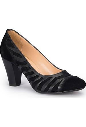 Polaris 72.310286.Z Siyah Kadın Ayakkabı