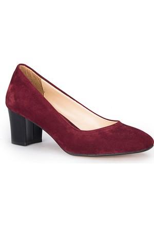Polaris 72.310297Sz Bordo Kadın Ayakkabı