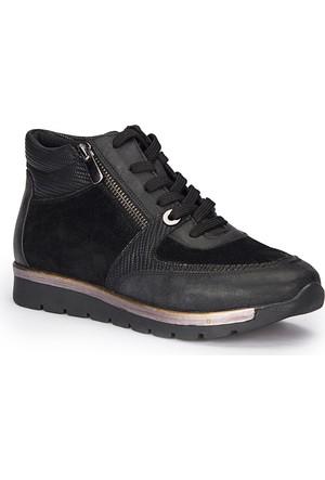 Polaris 72.310530.Z Siyah Kadın Ayakkabı