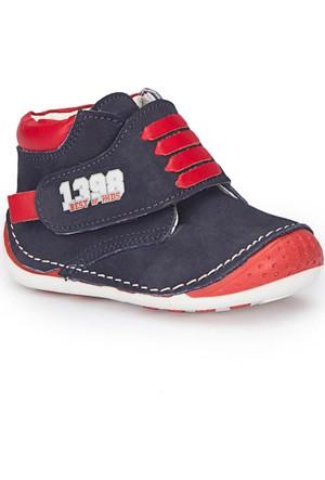 Polaris 72.509554.İ Lacivert Erkek Çocuk Deri Ayakkabı