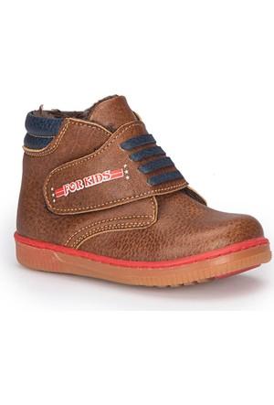 Polaris 72.509563.B Kahverengi Erkek Çocuk Ayakkabı