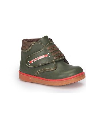 Polaris 72.509563.B Yeşil Erkek Çocuk Ayakkabı