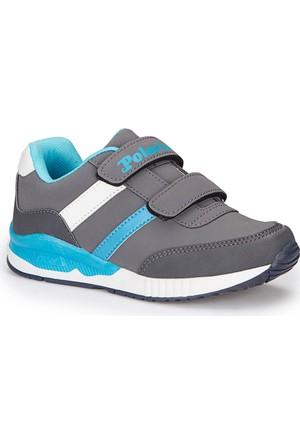 Polaris 72.509718.F Gri Erkek Çocuk Ayakkabı