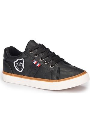 Polaris 72.509762.F Siyah Erkek Çocuk Ayakkabı