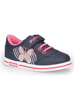 Polaris 72.509799.F Lacivert Kız Çocuk Ayakkabı