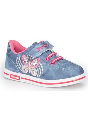 Polaris 72.509799.F Mavi Kız Çocuk Ayakkabı