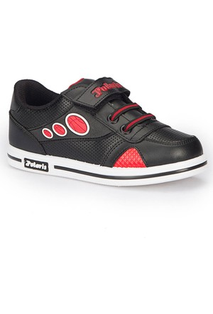 Polaris 72.509803.P Siyah Erkek Çocuk Ayakkabı