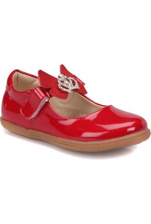 Seventeen Svpp6 Kırmızı Kız Çocuk Babet