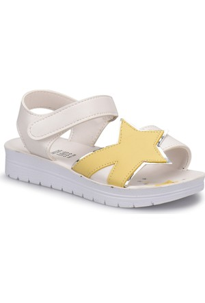 Seventeen Svs250 Beyaz Kız Çocuk Sandalet