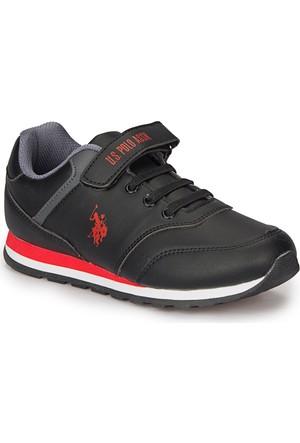 U.S. Polo Assn. Micro Wt Siyah Erkek Çocuk Çocuk Ayakkabı