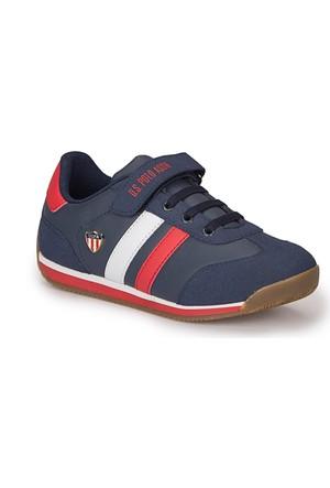 U.S. Polo Assn. Boni Wt Lacivert Erkek Çocuk Ayakkabı