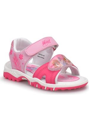 Winx Twin Fuşya Kız Çocuk Sandalet
