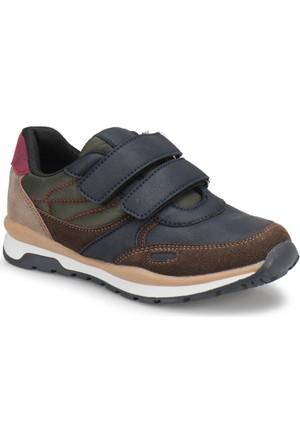 Yellow Kids Yk106 Lacivert Kahverengi Erkek Çocuk Ayakkabı