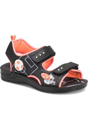 Yellow Kids Yk548 Siyah Erkek Çocuk Sandalet