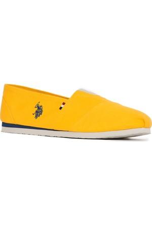U.S. Polo Assn. Y7Huff Ayakkabı Sarı
