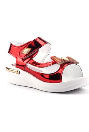 Sinem 0010 Günlük Cırtlı Yazlık Kız Çocuk Sandalet