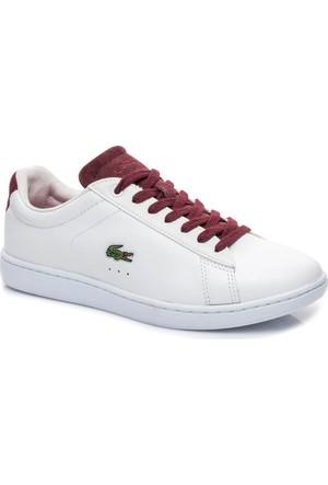 Lacoste Carnaby Evo 317 1 Kadın Beyaz Sneaker 734Spw0006.286