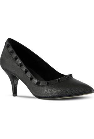 Marjin Anil Topuklu Ayakkabı Siyah