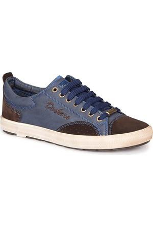Dockers By Gerli 217820 Lacivert Kahverengi Erkek Sneaker Ayakkabı