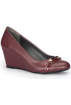 Polaris 72.309051.Z Bordo Kadın Ayakkabı