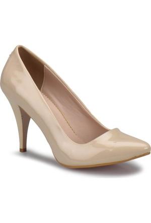 Miss F N16101 Bej Kadın Gova Ayakkabı