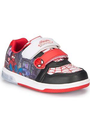 Spiderman Bater Siyah Erkek Çocuk Sneaker Ayakkabı