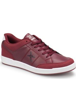 Kinetix Aris Bordo Antrasit Beyaz Erkek Sneaker Spor Ayakkabı