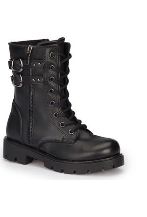 Polaris 72.509677.F Siyah Kız Çocuk Basic Çizme