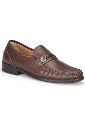 Polaris 5 Nokta 72.110329.M Kahverengi Erkek Deri Ayakkabı