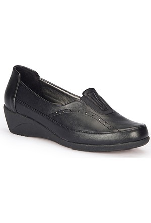 Polaris 72.158020.Z Siyah Kadın Anne Ayakkabısı
