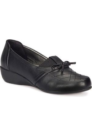 Polaris 72.158027.Z Siyah Kadın Anne Ayakkabısı