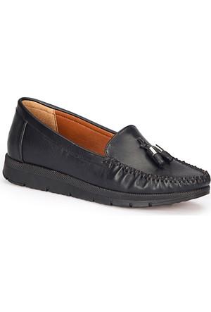 Polaris 72.158013.Z Taba Kadın Loafer Ayakkabı