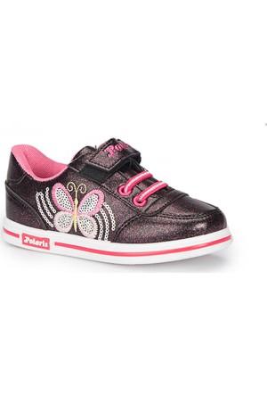 Polaris 72.509798.P Siyah Kız Çocuk Ayakkabı