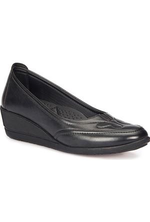 Polaris 72.158045.Z Siyah Kadın Anne Ayakkabısı