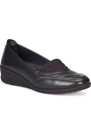Polaris 72.158046.Z Siyah Kadın Anne Ayakkabısı