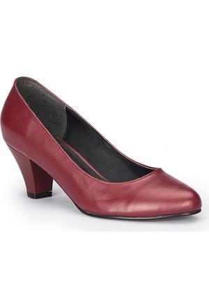 Polaris 72.310381.Z Bordo Kadın Ayakkabı