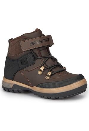 Spy Man Ricco-4 Kahverengi Erkek Çocuk Outdoor Ayakkabı