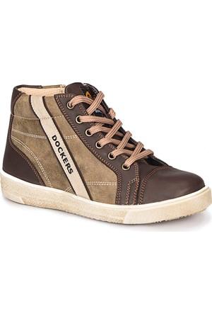 Dockers By Gerli 223925 Kum Rengi Kahverengi Erkek Çocuk Worker Ayakkabı