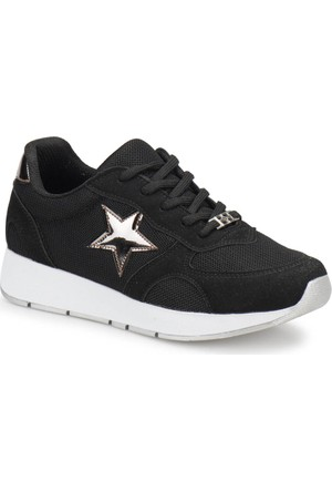 Butigo S1034 Siyah Kadın Sneaker Ayakkabı