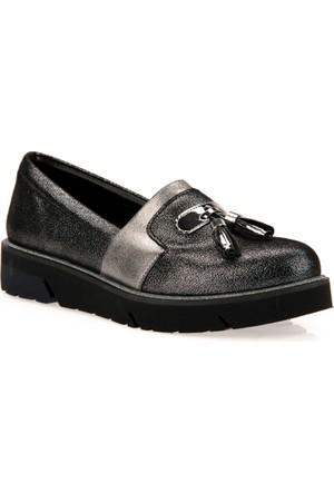 Uniquer Kadın Ayakkabı 7358U 6435 Platin