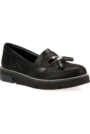 Uniquer Kadın Ayakkabı 7358U 6435 Siyah