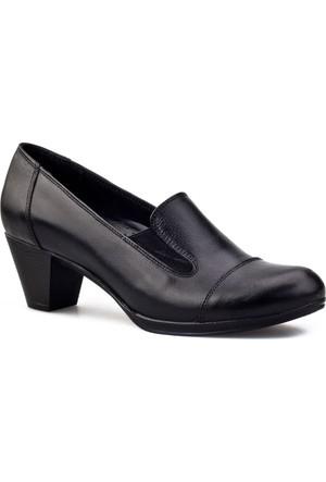 Cabani Topuklu Günlük Kadın Ayakkabı Siyah